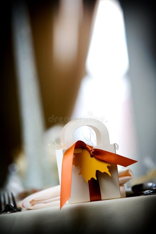 Hochzeitsbevorzugungen lizenzfreies stockfoto