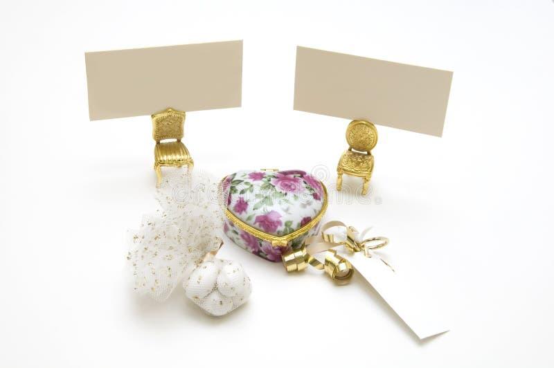 Hochzeitsbevorzugungen lizenzfreie stockfotos