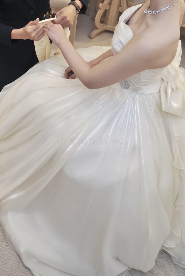 Hochzeitsbild der ewigen Liebe lizenzfreie stockbilder