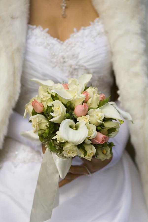 Hochzeitsblumenstrauß lizenzfreie stockfotografie