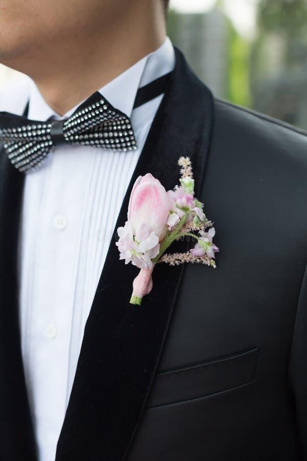 Hochzeitsbrosche lizenzfreie stockfotografie