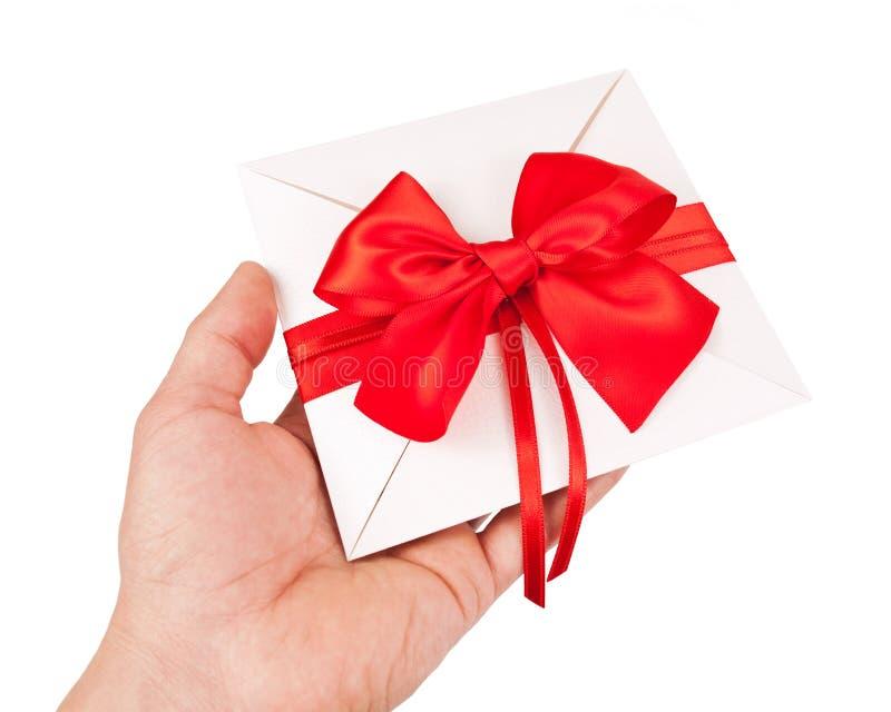 Hochzeitseinladung oder -Geschenkgutschein stockbilder
