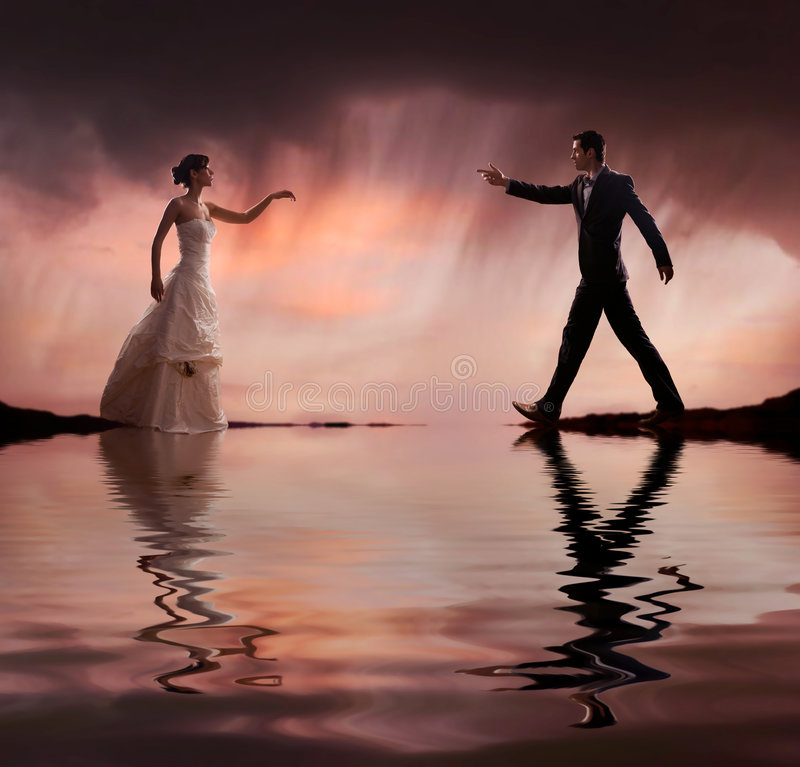 Hochzeitsfoto lizenzfreie stockfotos