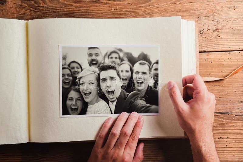 Hochzeitsfotos lizenzfreie stockfotografie