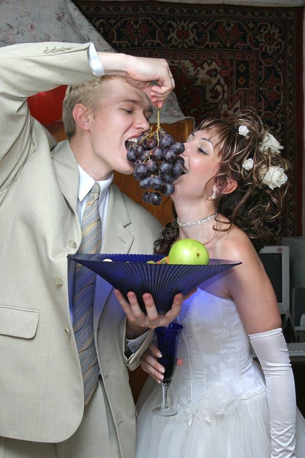 Hochzeitsfrucht stockfoto