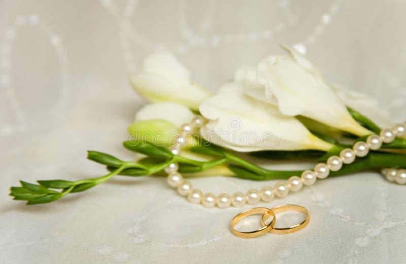 Hochzeitskarte stockbild