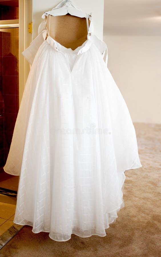 Hochzeitskleid Lizenzfreies Stockfoto
