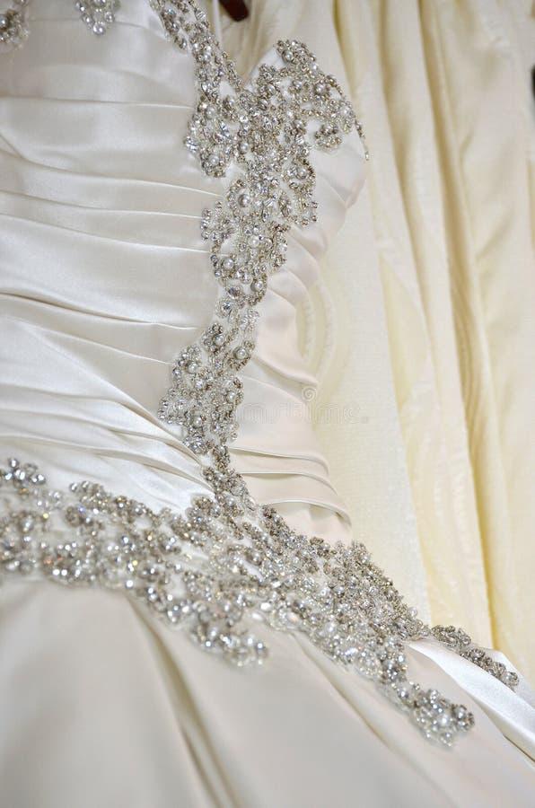 Hochzeitskleiderträume lizenzfreies stockbild