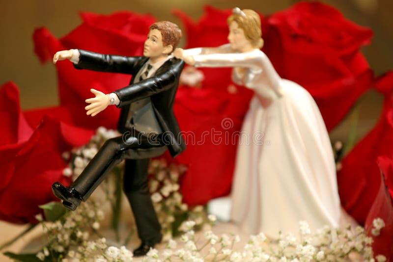 Hochzeitskuchen lizenzfreies stockbild
