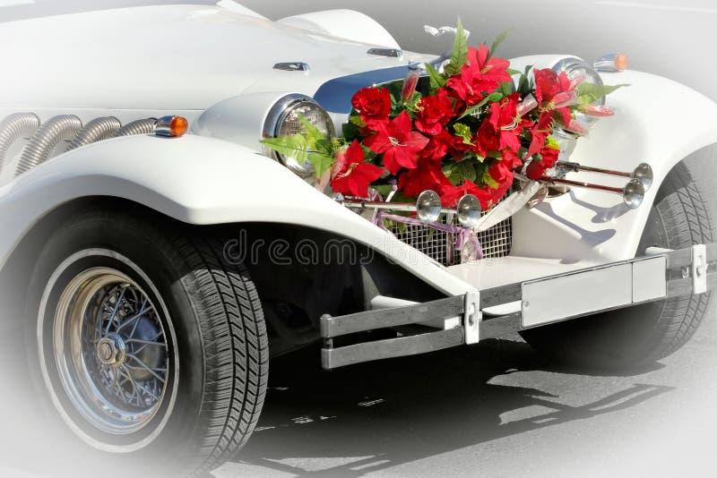 Hochzeitslimousine stockfotos