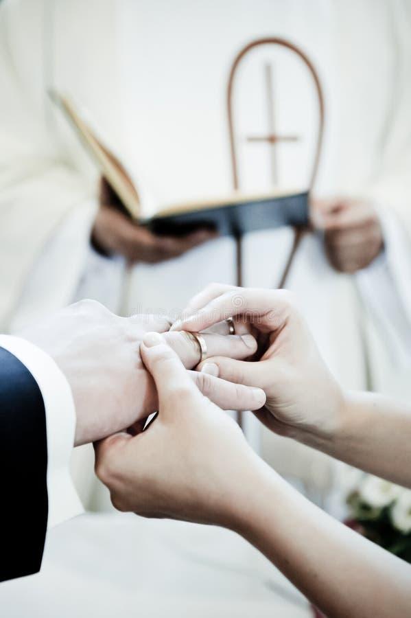 Hochzeitsring lizenzfreie stockfotografie