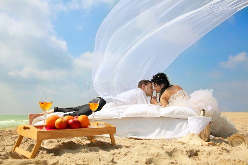 Hochzeitsschuß stockbild