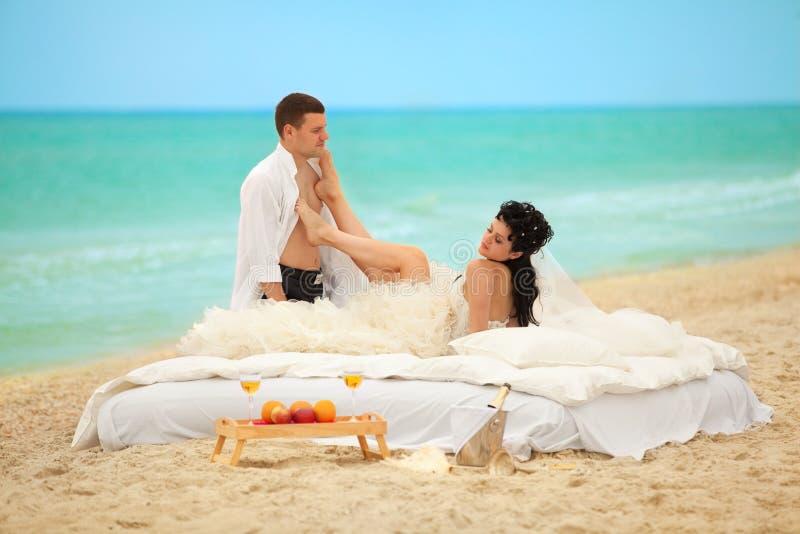 Hochzeitsschuß stockfotos