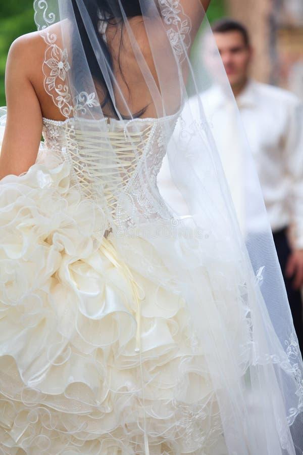 Hochzeitsschuß lizenzfreie stockbilder