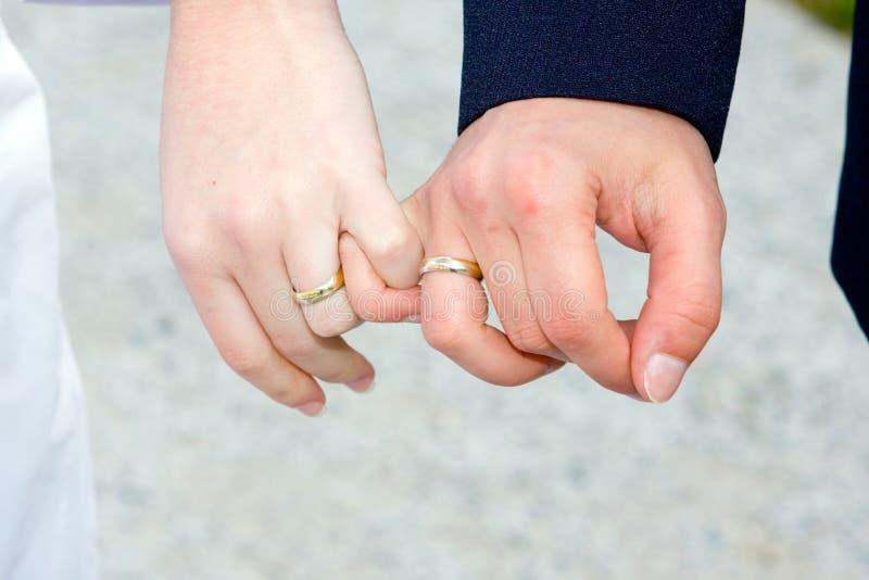 Hochzeitssonderkommandos stockbild