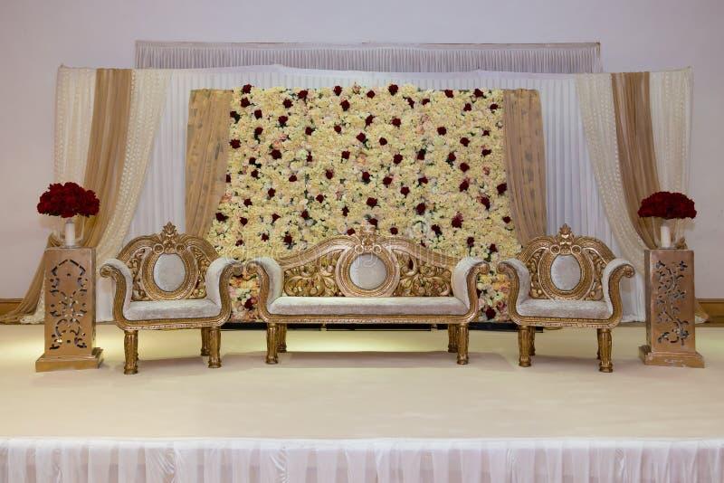 Hochzeitsstadium lizenzfreie stockfotografie