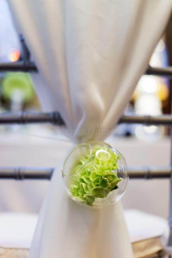 Hochzeitsstuhl lizenzfreies stockfoto