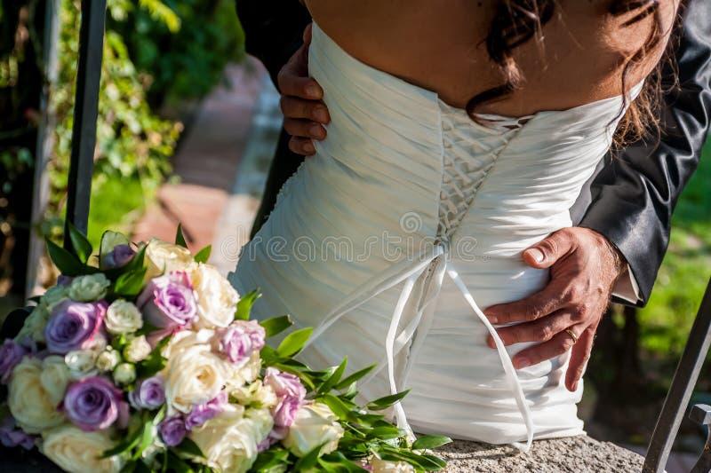 Hochzeitstag lizenzfreies stockbild