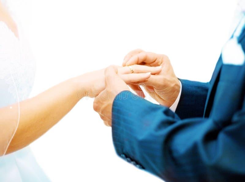 Hochzeitsversprechen lizenzfreie stockbilder