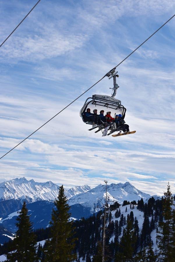 Hochzillertal, Áustria fotos de stock royalty free