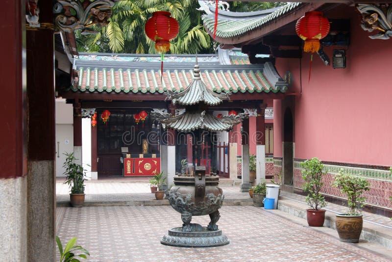 hock keng ναός thian στοκ εικόνα