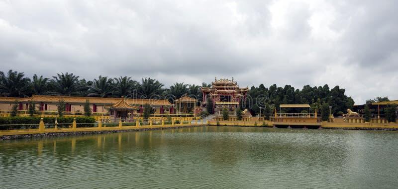 Hock visto Yeen, templo de Confucius, Chemor, Malásia fotografia de stock