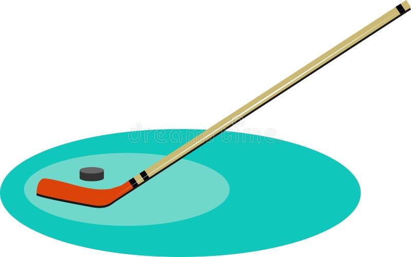 Download Hockey vektor illustrationer. Bild av hockey, rekreation - 43773