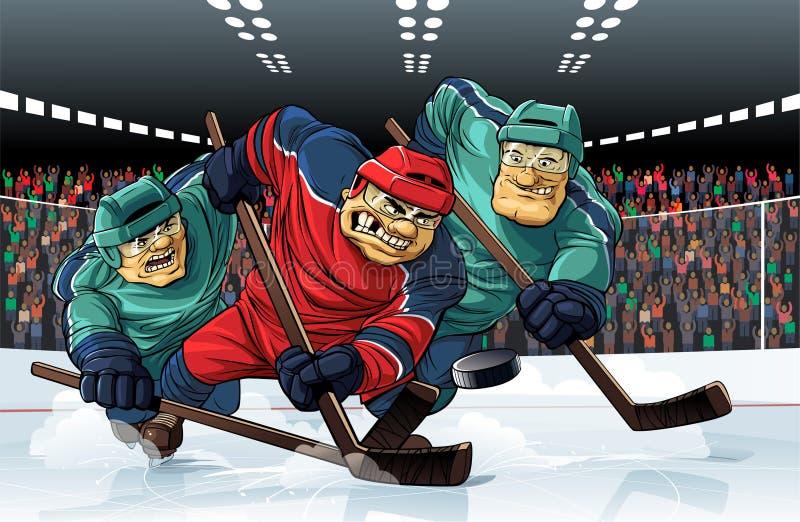 hockey royalty illustrazione gratis