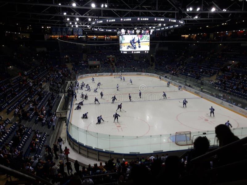 hockey fotografie stock