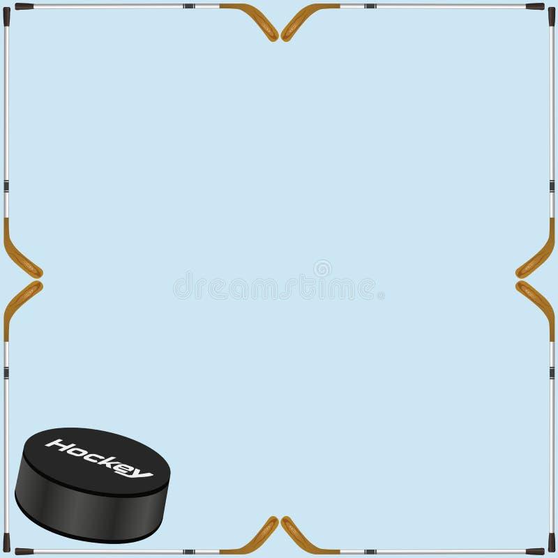 Hockey Background Card Stock Vector. Illustration Of