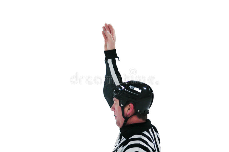 Hockey - Beamte - 002 stockfotos