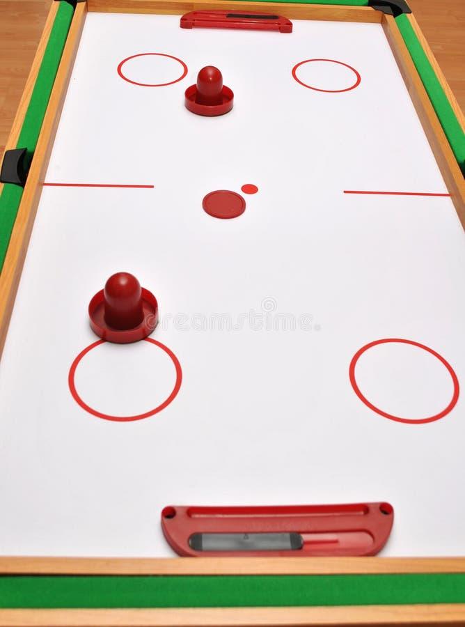 Hockey d'air images libres de droits