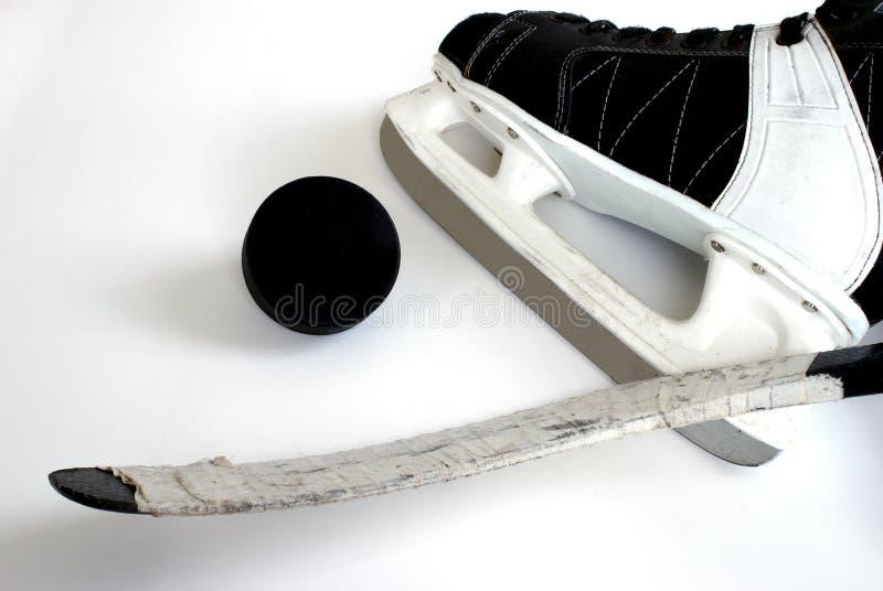 hockey de matériel images stock