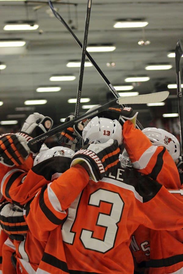 Hockey di BGSU fotografie stock libere da diritti