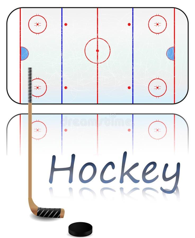Hockey Feld Nass