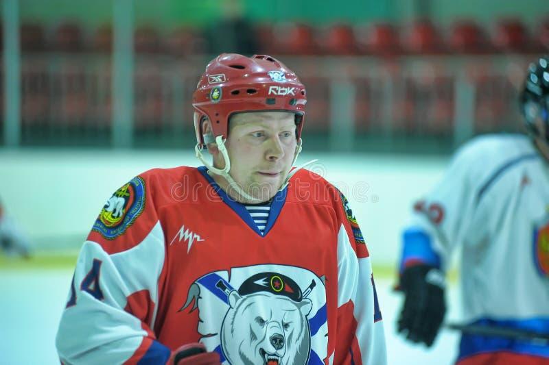 Hockey game royalty free stock photo