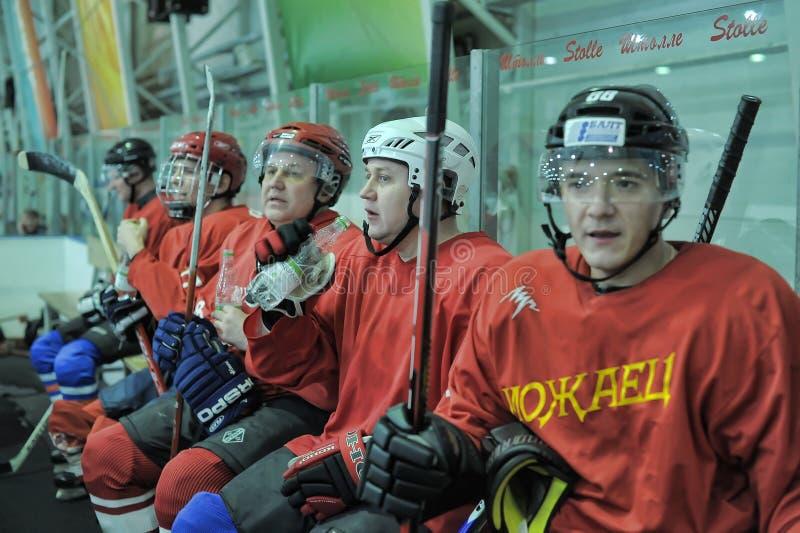 Hockey game stock photos
