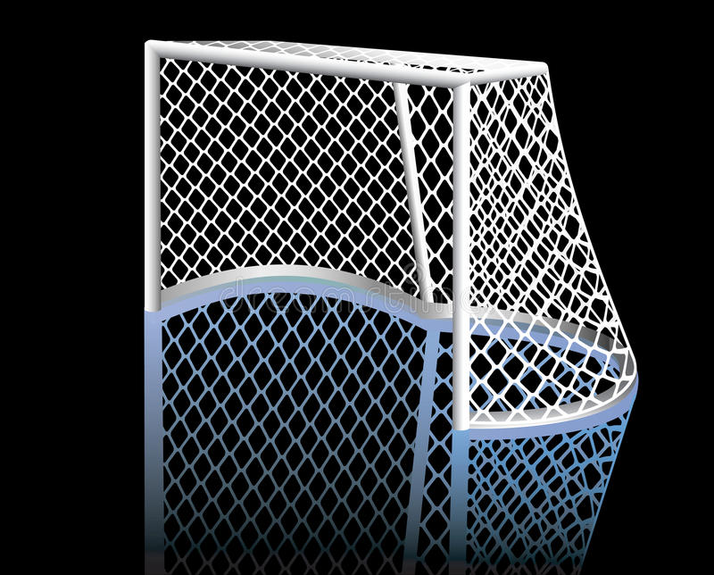 Hockey Goal. Royalty Free Stock Images