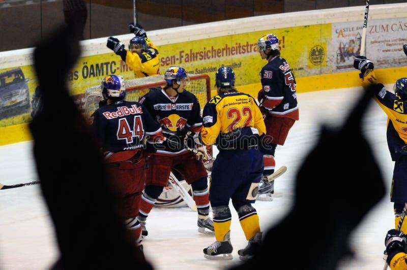 Hockey Goal Scored Editorial Photo