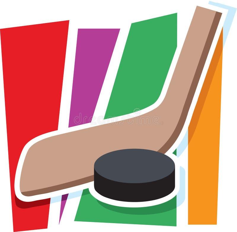 Hockey-Grafik vektor abbildung