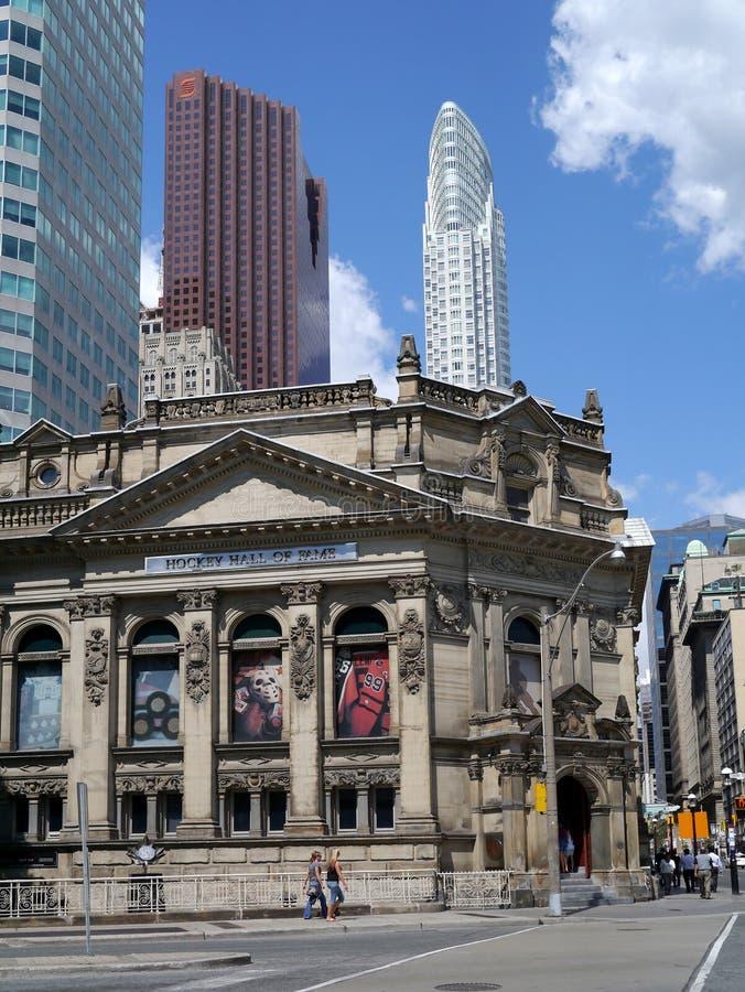 Hockey Hall of Fame, Toronto stock images