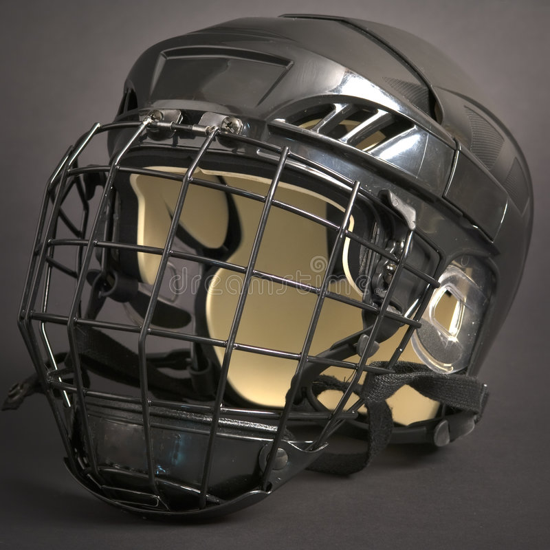 Download Hockey helmet stock photo. Image of background, cage, shield - 5051308