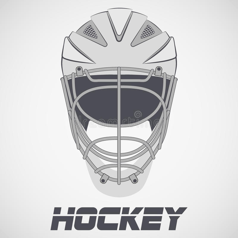 Free Hockey Helmet Sketch Stock Photography - 82703712