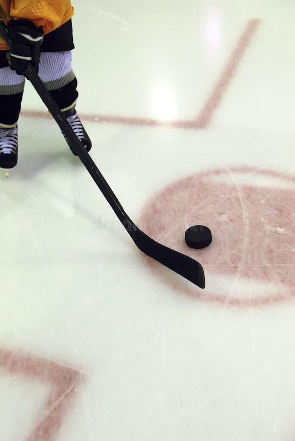 hockey kissar wee arkivfoto