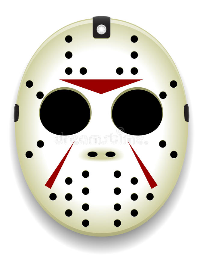 Download Hockey Mask Vector stock vector. Illustration of background - 15041413