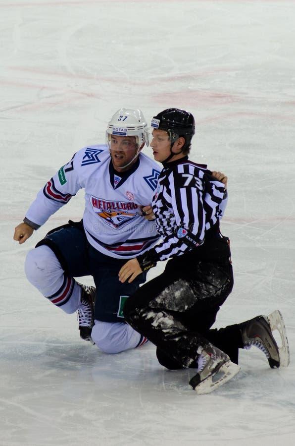 hockey match royalty free stock photos