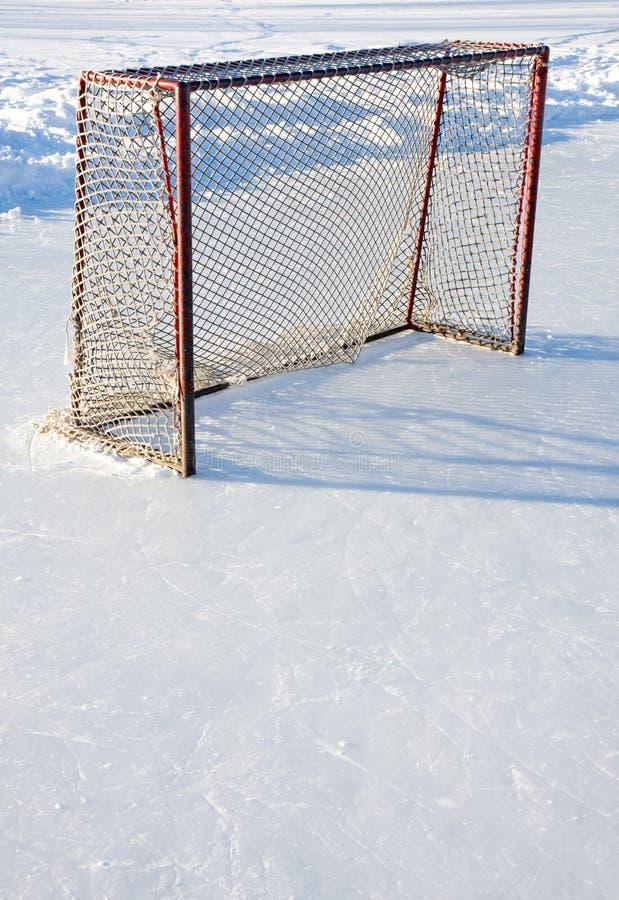 Hockey net royalty free stock image