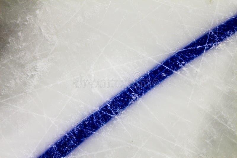 Hockey och is arkivfoto
