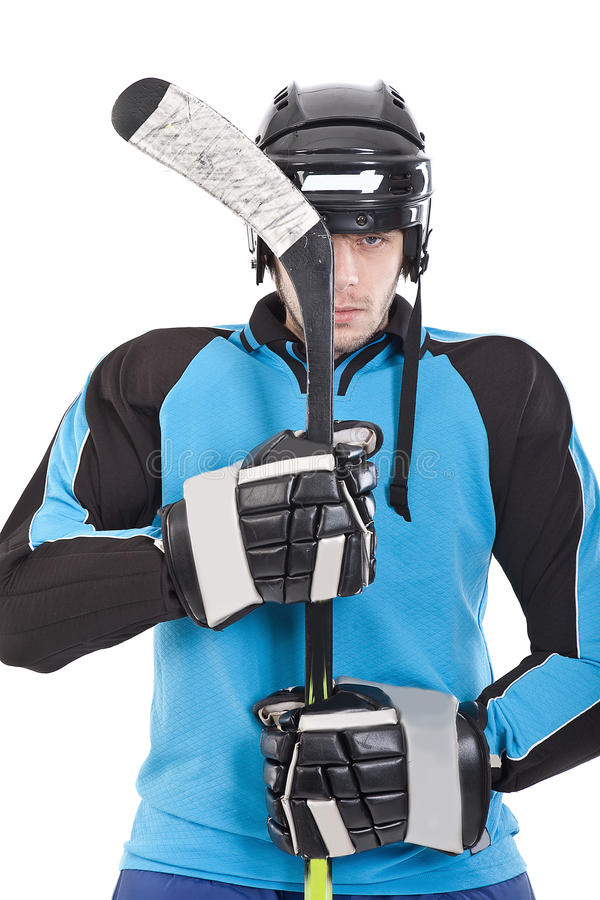Free Hockey Player Stock Photography - 18140812