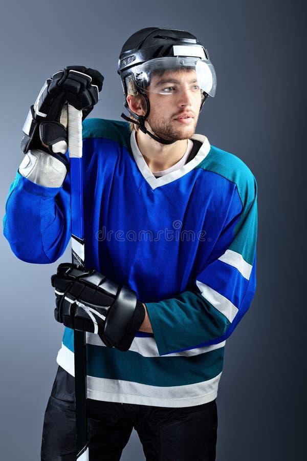 Hockey Player Royalty Free Stock Image